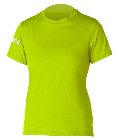 Xcel Ladies Solid Shortsleeve 6oz Rashtop