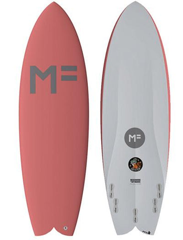 Mick Fanning Catfish Softboard - Coral/FCSII