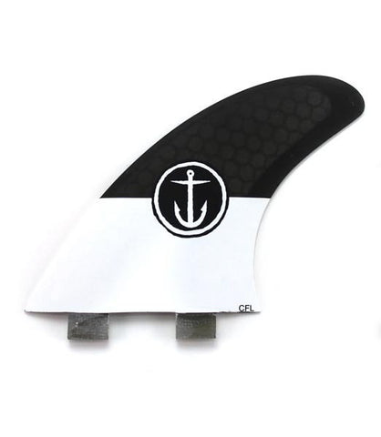 Captain Fin CF 5 Fin Large Twin Tab Fin Set