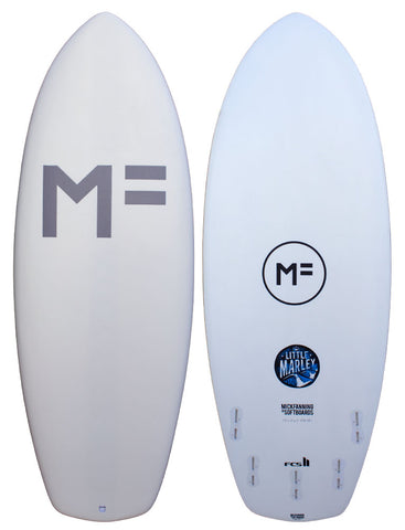 Mick Fanning Little Marley Softboard White/FCSII '19