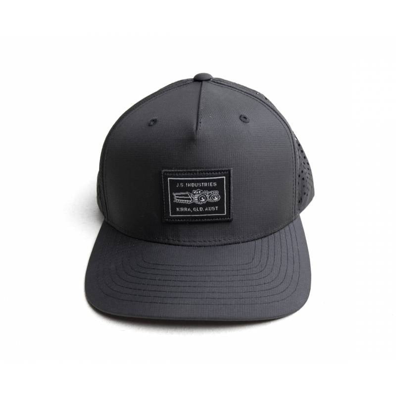 JS Industries Traktor Snapback Cap - Black