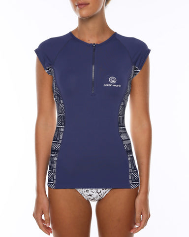 O&E Ladies Flame S/S Thermo Skin