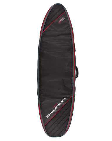 O&E Double Compact Shortboard Cover '19