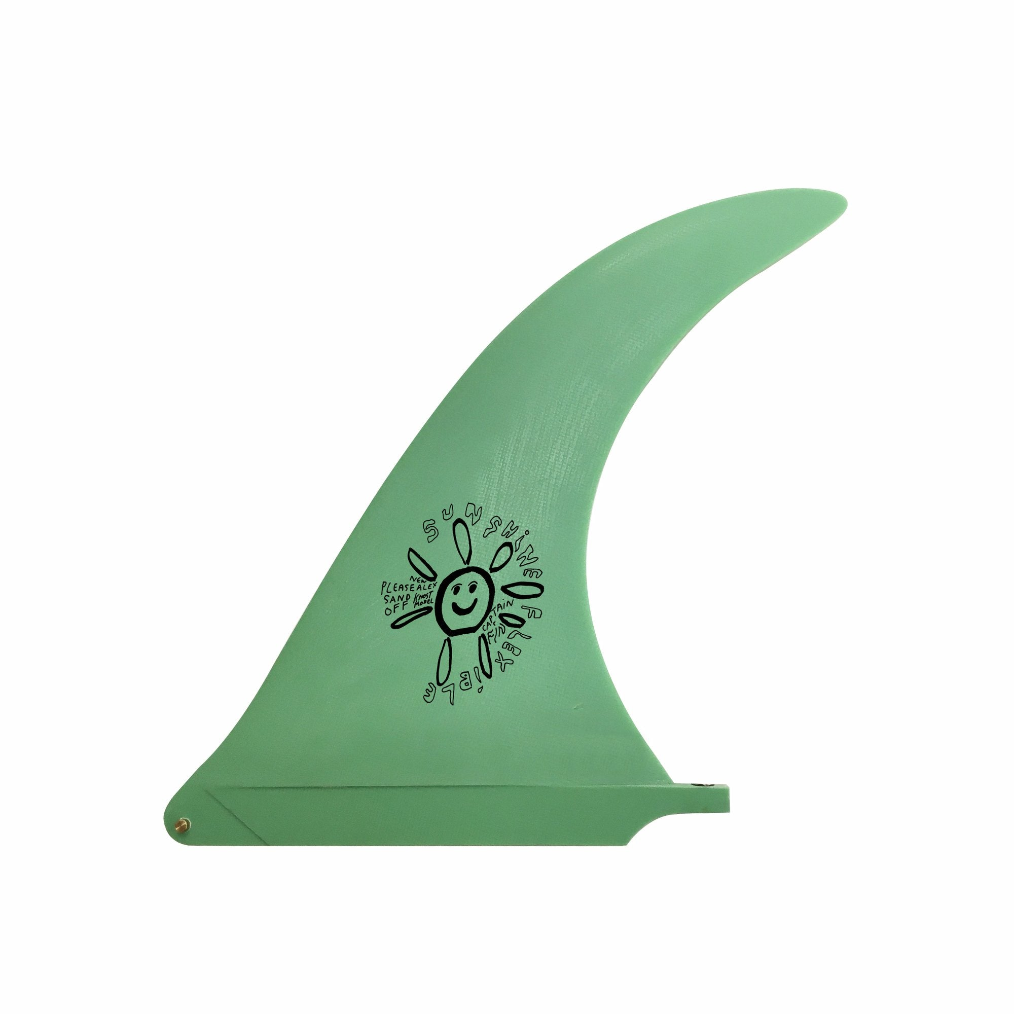 "Captain Fin Alex Knost 10"" Sunshine Fin - Green"