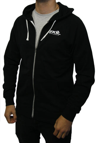 Exit Surf Traction Zip Hoody - Black