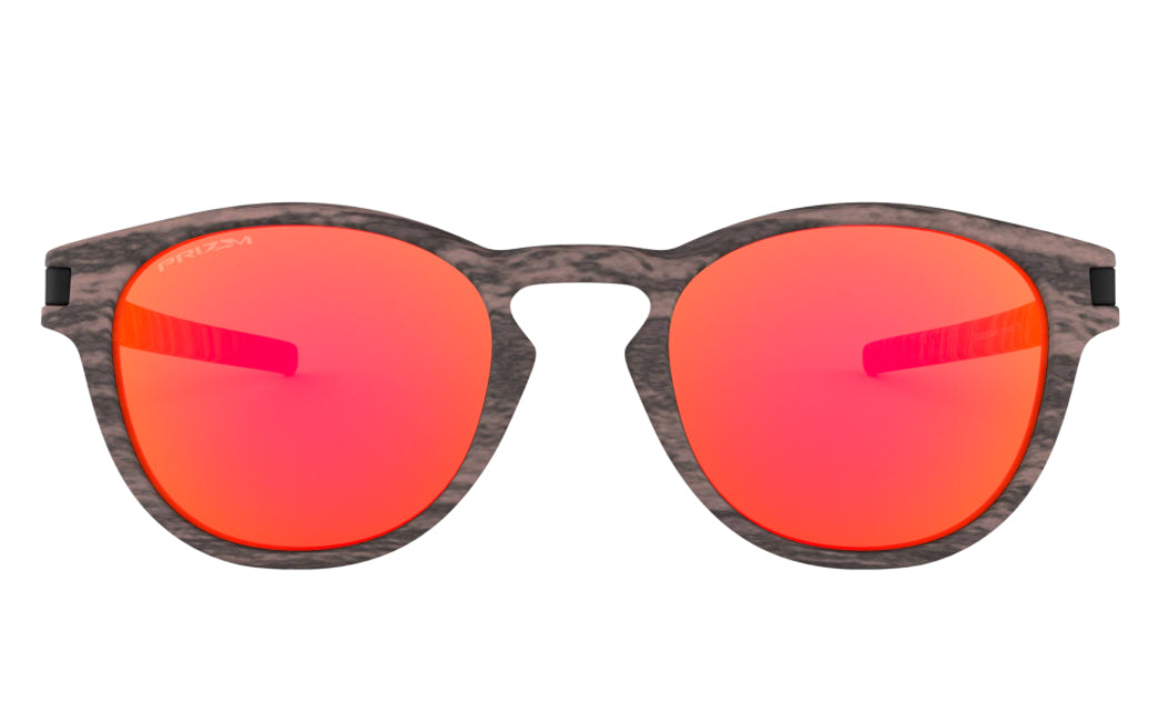 Oakley Latch - Rosewood w/ Prizm Ruby
