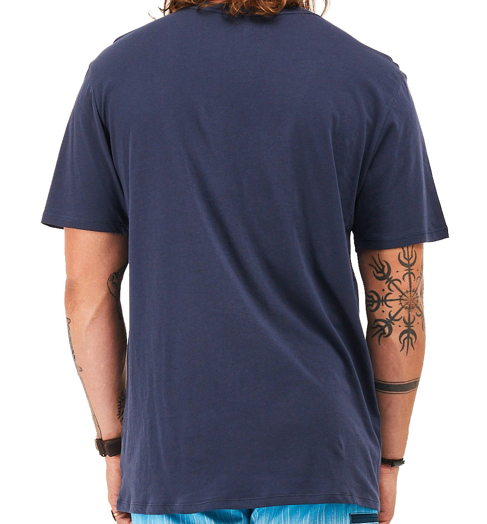 Hurley One & Only Solid T-shirt - Obsidian/White