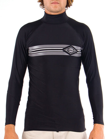 O&E Hook L/S Rashvest - Black