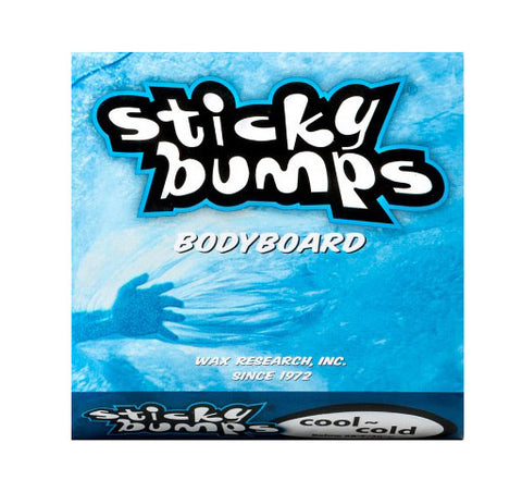 Sticky Bumps Bodyboard Wax - Cool/Cold