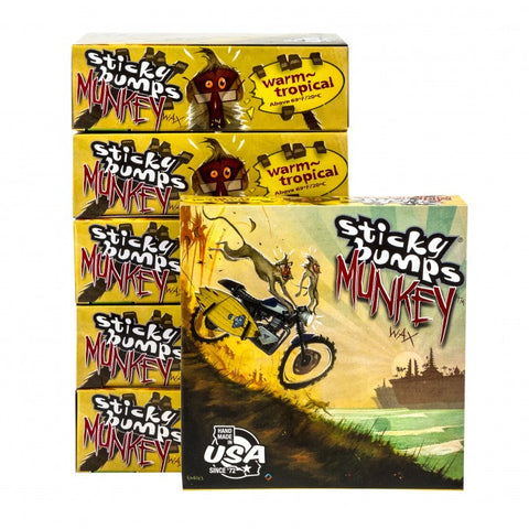 Sticky Bumps Munkey Wax - Warm/Tropical