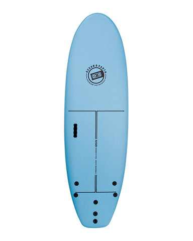 O&E Macca Surf School Softboard
