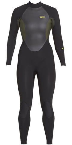 Xcel Axis Smart Fiber Wetsuit Top 1/0.5 Black/Graphite