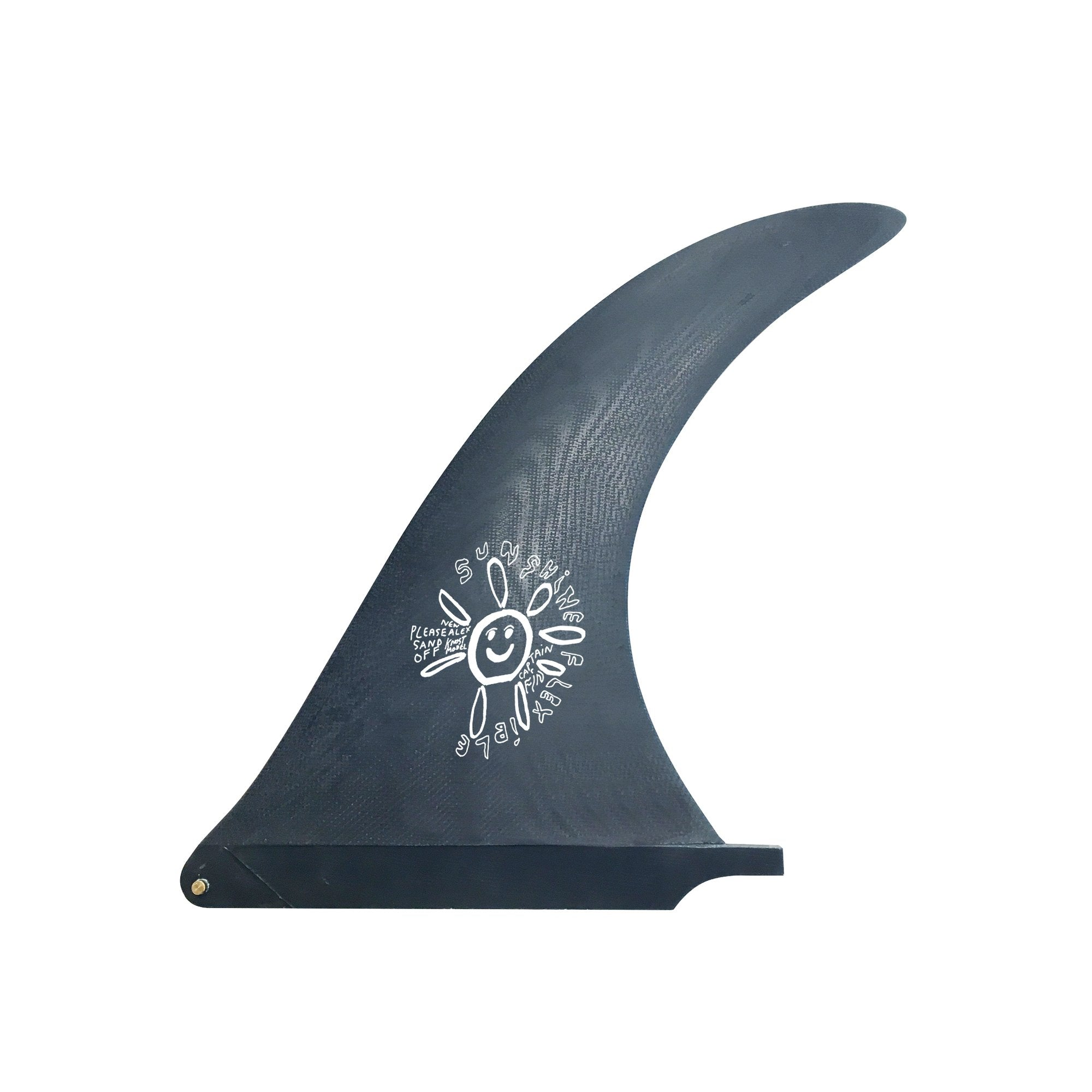 "Captain Fin Alex Knost 10"" Sunshine Fin - BLUE"