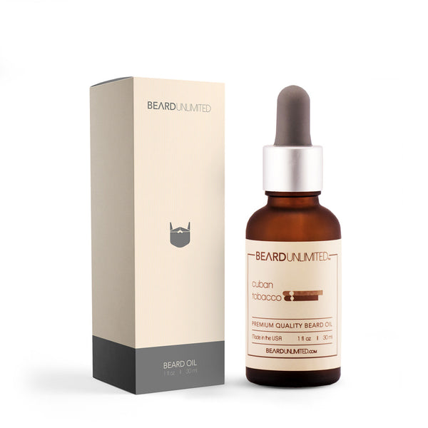 Beard Unlimited Beard Oil- Cuban Tobacco