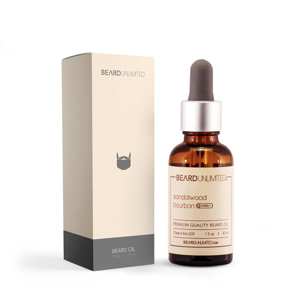 Beard Unlimited Beard Oil- Sandalwood Bourbon