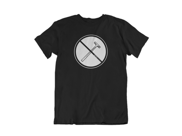 No Razors Tee - Beard T-Shirt