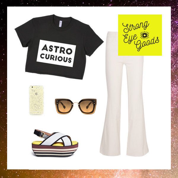 Astro Curious Crop Top