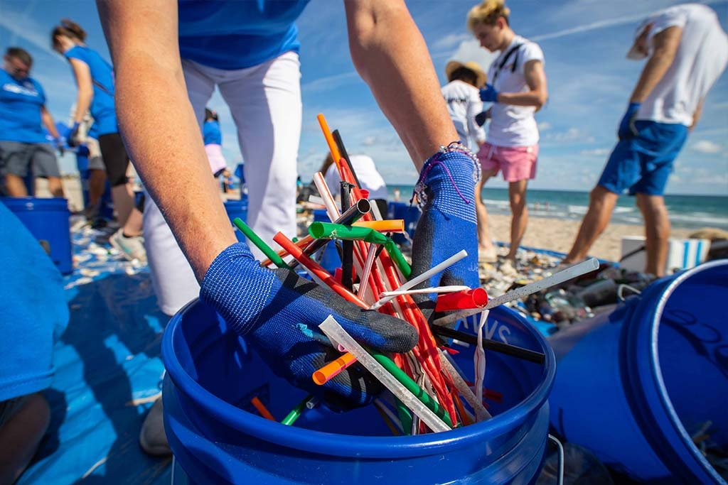 Orange County's Coastal Clean Up efforts