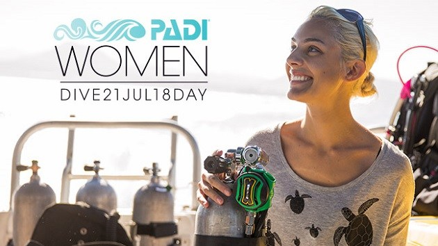 PADI Women's Dive Day - July 21, 2018