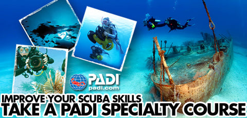 PADI Specialty Course banner