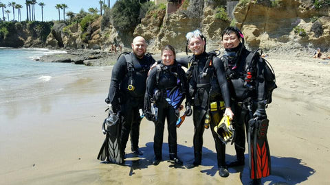 Dive 949 in Shaw's Cove, CA