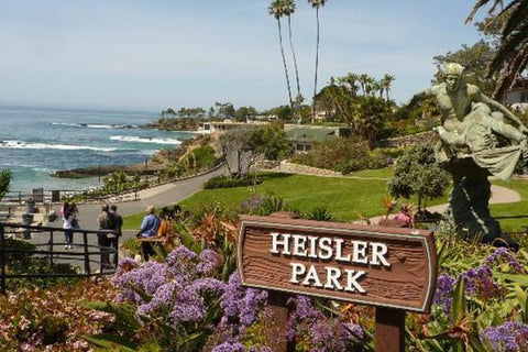 Heisler park dive site in Laguna Beach, California