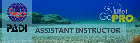 PADI Assistant Instructor program banner