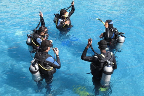Scuba instructor training in Orange County, CA