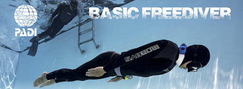 Basic Freediver in pool