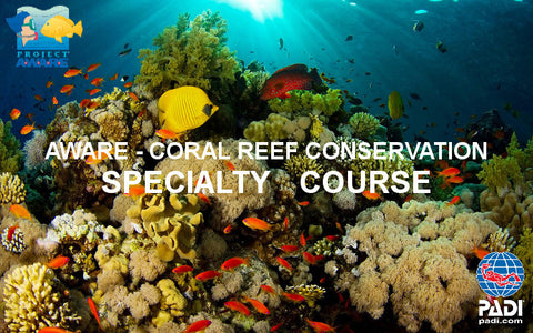 Project AWARE Coral Reef banners