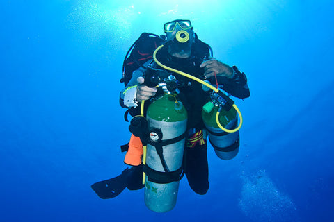 Technical diving on Catalina Island