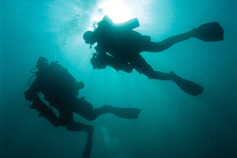 Technical Divers in Orange County, California