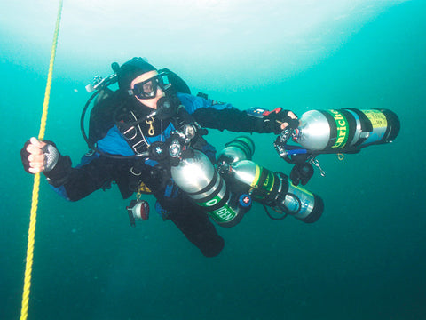Technical diving in California