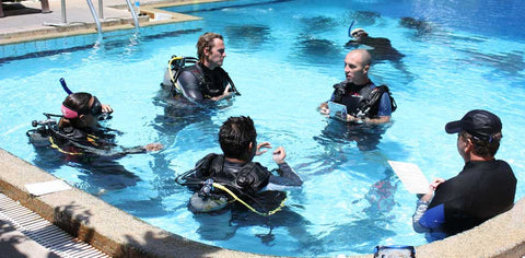 Instructors in Cypress, CA pool