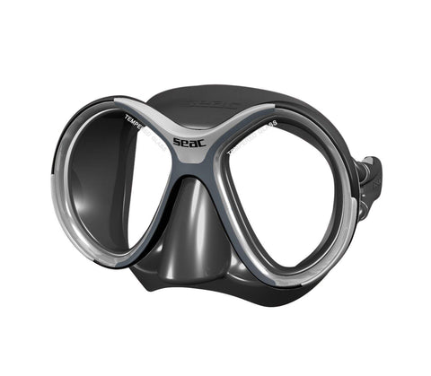 SEAC Glamour S/BL Scuba Diving Mask (Black)