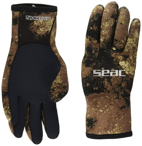 SEAC Python 3.5mm Scuba Diving Gloves, Camo
