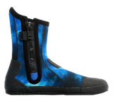 Aqua Lung 5mm Superzip Boots Galaxy Blue