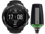 Suunto D5 Dive Computer Black with Black Bezel and Suunto Tank Pod