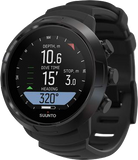 Suunto D5 Dive Computer Black with Black Bezel