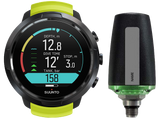 Suunto D5 Dive Computer Yellow with Black Bezel and Suunto Tank POD