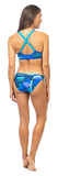 Fourth Element Ocean Positive Tiger Reversible Bikini Bottom Blue
