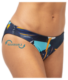 Fourth Element Ocean Positive Tiger Reversible Bikini Bottom Midnight