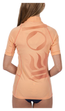 Fourth Element Women's Short Sleeve Hydroskin Coral