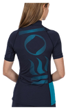 Fourth Element Women's Short Sleeve Hydroskin Midnight Navy
