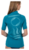 Fourth Element Women's Short Sleeve Hydroskin Ocean Depth