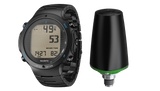 Suunto D6i Novo All Black Steel Limited Edition with Suunto Transmitter