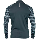 ScubaPro UPF 50 Men's Long Sleeve Rash Guard - Graphite