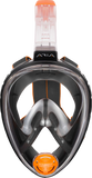 Ocean Reef Aria Classic Full Face Snorkel Mask Black
