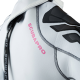 ScubaPro Everflex Steamer 3/2mm Women White Back