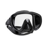 ScubaPro Flux Mask Black with Black Skirt